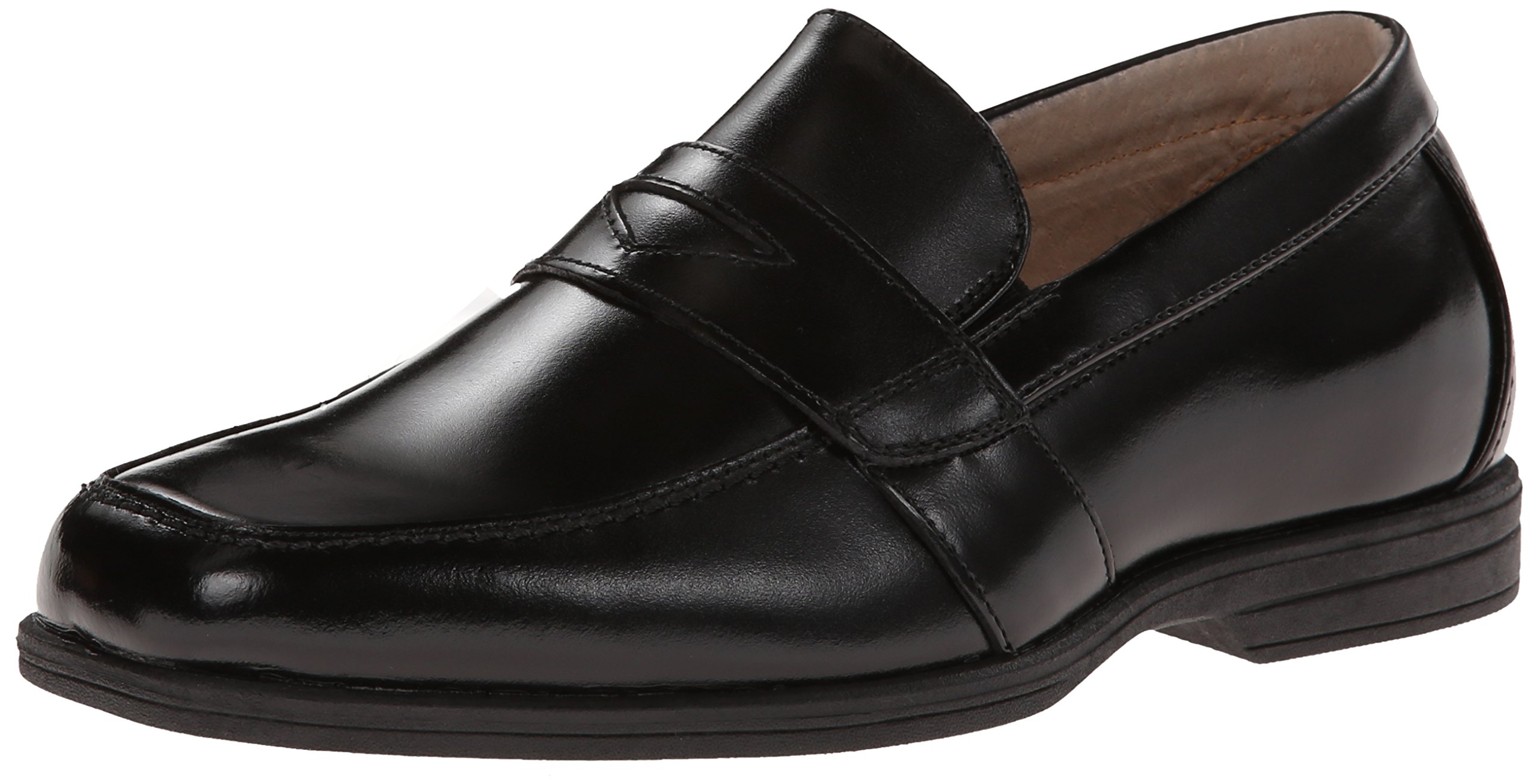 Florsheim Kids Reveal Penny Loafer Jr. Dress Shoe, Black, 3 Medium Little Kid
