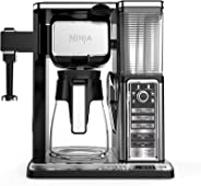 Ninja Coffee Bar Auto-iQ Programmable Coffee Maker with 6 Brew Sizes, 5 Brew Options, Milk Frother, Removable Water Reservoi