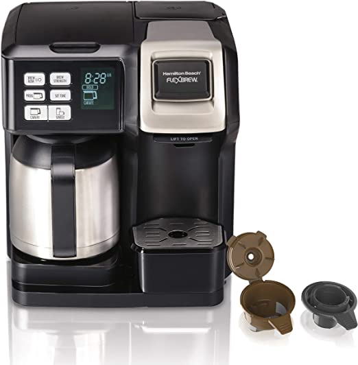 Amazon.com: Hamilton Beach 49966 FlexBrew - Cafetera térmica ...