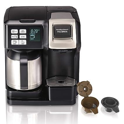 Amazoncom Hamilton Beach 49966 Flexbrew Coffee Maker With