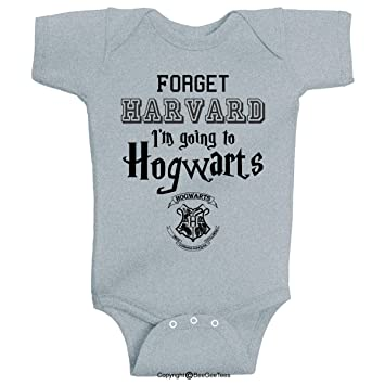 c86ffb979 Image Unavailable. Image not available for. Color: BeeGeeTees Forget  Harvard I'm Going Funny Baby Wizard ...