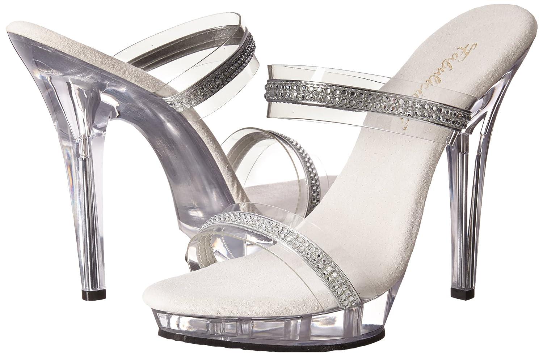 Pleaser Womens Lip-2//C//RS Platform Sandal