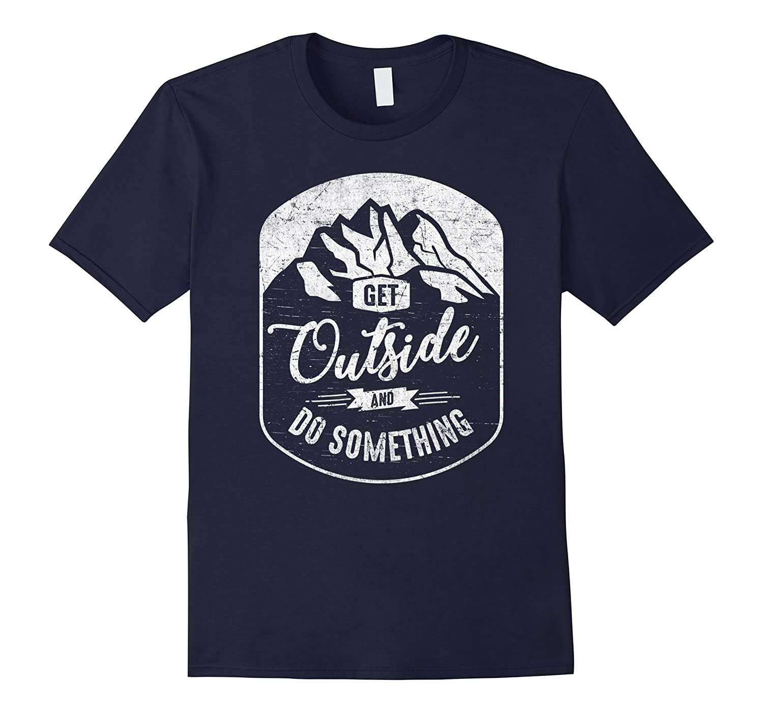 Get Outside Do Something T-shirt Scouting National Parks-TD
