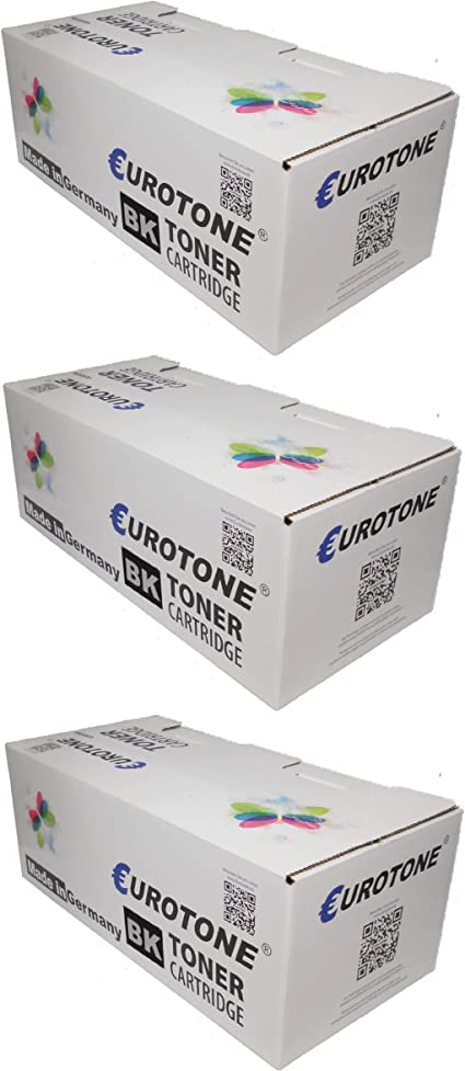 Eurotone Toner Cartridges For Ricoh Aficio Sp C250sf Sp C250dn Parent Bürobedarf Schreibwaren
