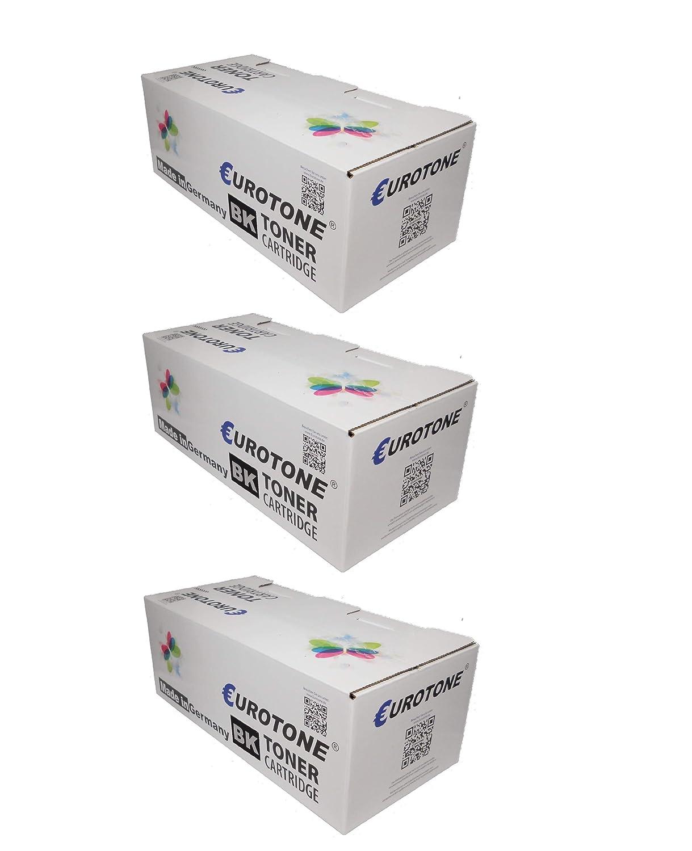 3x Eurotone Print Cartridges für Utax LP 3230 - ersetzt 612810015 Patronen - kompatible Premium Alternative - non oem