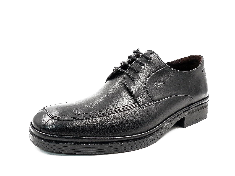 Zapatos hombre para vestir con cordones FLUCHOS - Piel color negro - 7350 - 46 negro