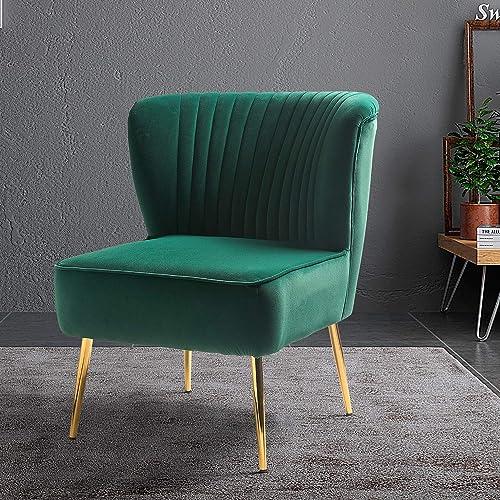 Monica Side Chair-Green