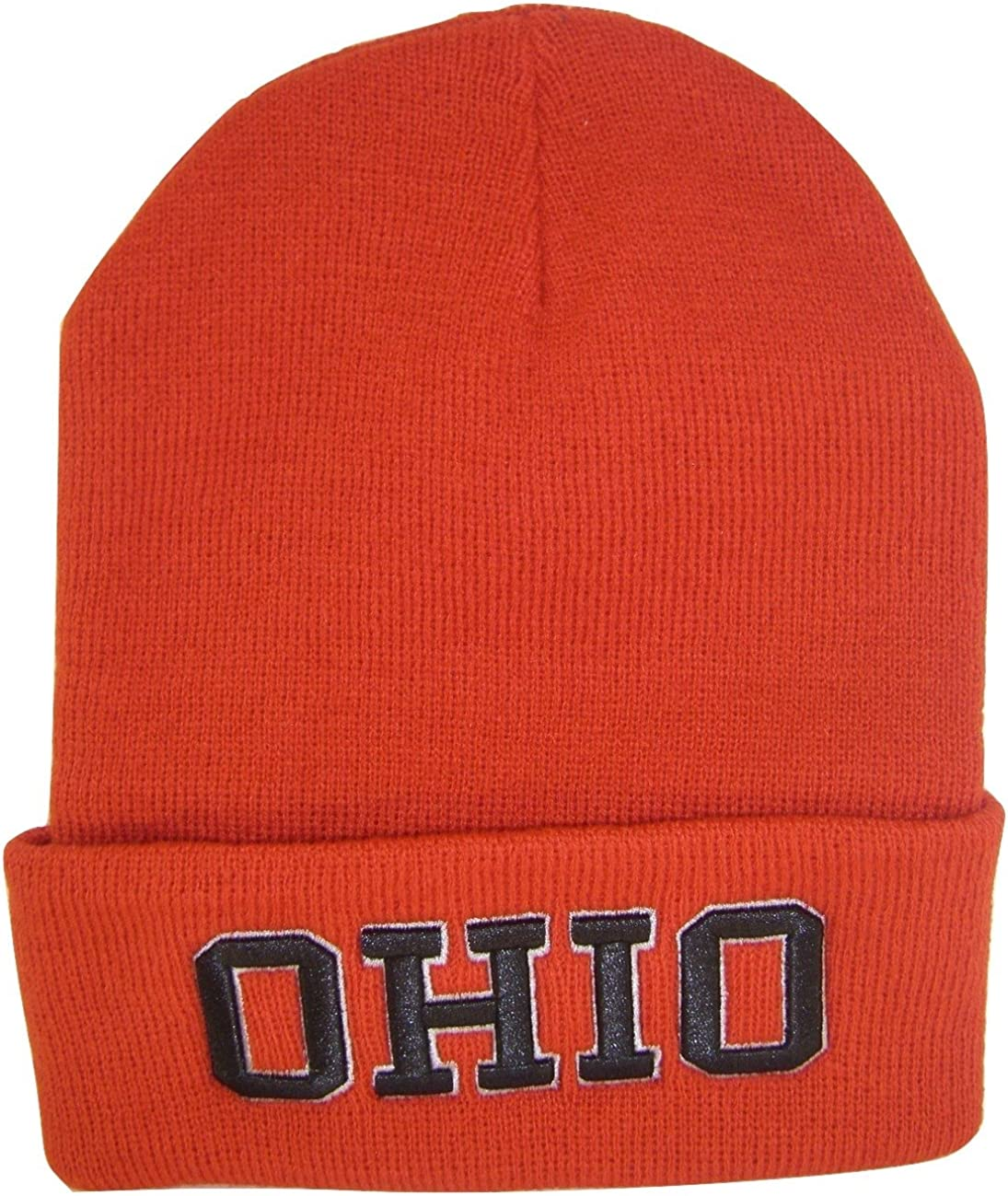 BVE Sports Novelties Ohio Adult Size Winter Knit Beanie Hats