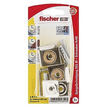 Fischer 052399 Spiegelbef Skl M K Sb Karte Inhalt Dubel S 6 4 X