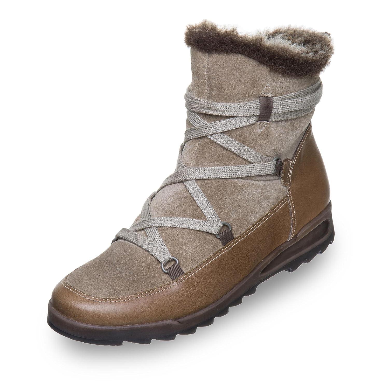 12-44627-66 Damen Stiefel aus echtem Veloursleder Reißverschluss gefüttert