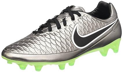 cd379d92d127 Amazon.com  Nike Magista Orden FG Soccer Cleat (Metallic Pewter) Sz ...