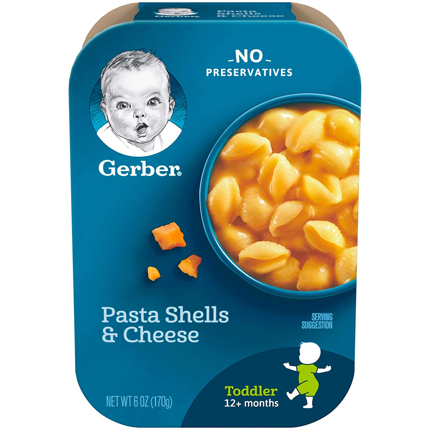 Gerber Graduates Lil' Meals, Spaghetti Rings in Meat Sauce, 6 Ounce (Pack of 6) (packaging may vary) TRTAZ11A