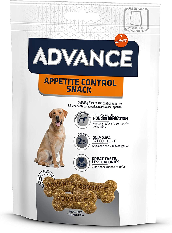 ADVANCE Snacks, Appetite Control Snack para Perros - 1050 gr