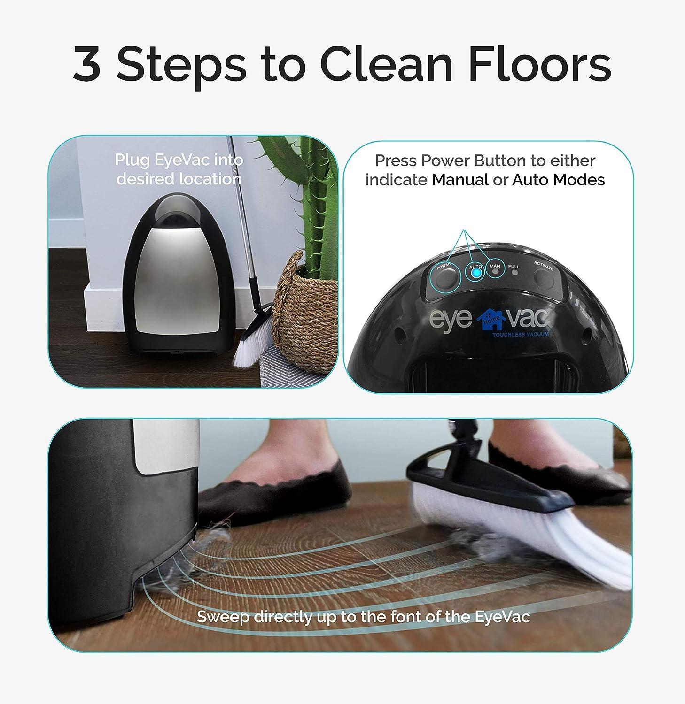 39/x 24.5/x 20/cm EyeVac  1000/W EVH B Electronic Waste Plastic Bin-Black