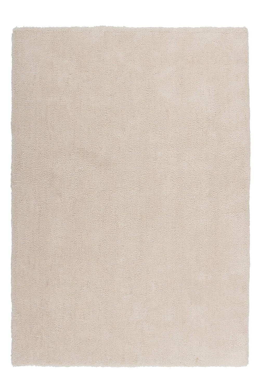Lalee  347160341  Hochwertiger Teppich   Shaggy Art   Weich   Creme   Grösse   160 x 230 cm