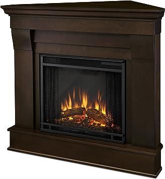 Amazon Com Real Flame 5950e Chateau Corner Electric Fireplace