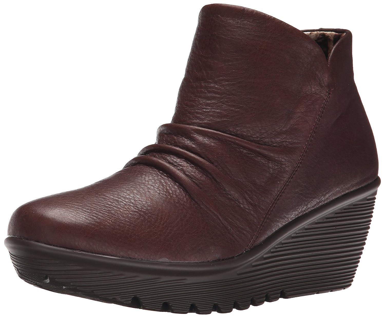 Skechers Damen Parallel Universe Kurzschaft Stiefel  355 EU|Braun (Choc)