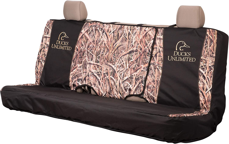 Ducks Unlimited Camo Seat Cover Low Back Du Shadow Grass Blades DU Shadow Grass Blades Single