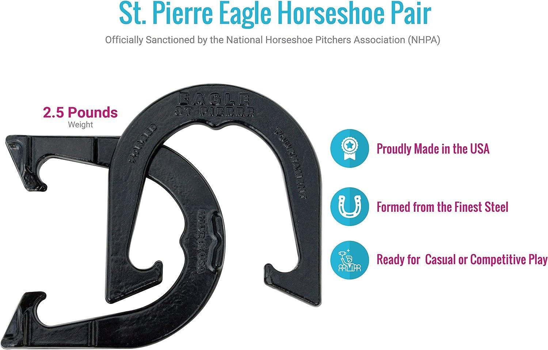 St NHPA Tournament Eagle Pierre Horseshoe Pair
