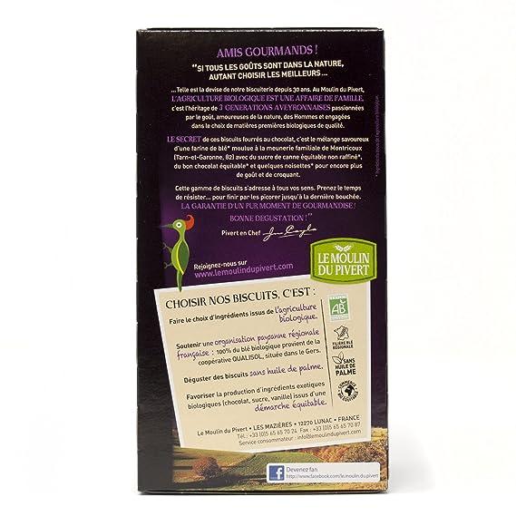 Le Moulin Du Pivert Cookies Rellenas de Chocolate - Paquete de 12 x 175 gr - Total: 2100 gr: Amazon.es: Alimentación y bebidas