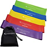 Exercise Bands for Working Out Arms, Legs and Butt – Non-Latex Resistance Bands Set for Women, Men – Physical Therapy, Fitnes