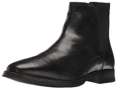 Cole Haan Men's Montgomery Zip Chelsea Boot, Black, ...