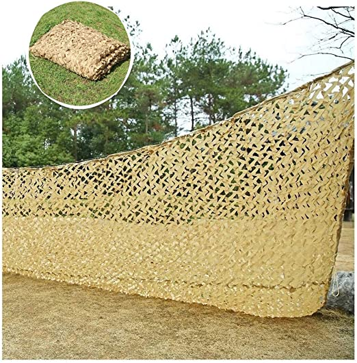 Qjifangzyp Camuflaje de la Malla de la Vela Neta, 3x4 m Tienda de protección Solar Neta