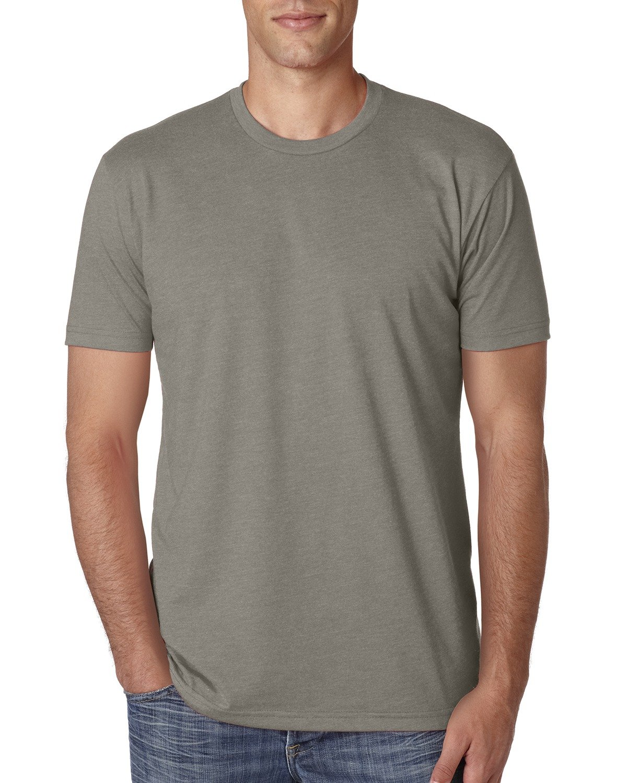Next Level Apparel メンズ CVC クルーネック ジャージ Tシャツ B014WD7J3Q L|ウォームグレー ウォームグレー L