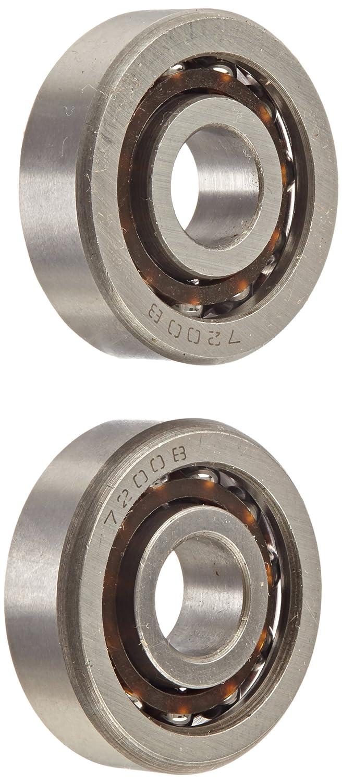 2 Bearing 7200B 10x30x9 Angular Contact