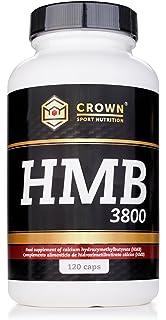 Crown Sport Nutrition HMB 3800/950 mg por cápsula, Suplemento para deportistas - 120