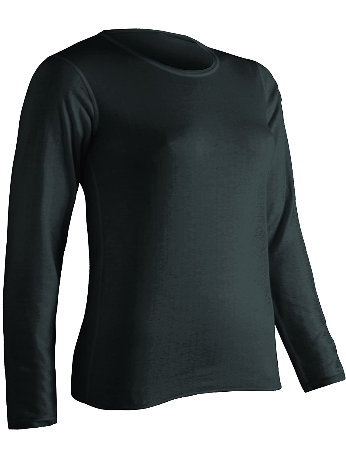 ColdPruf Women's Platinum Plus-Size - for My Size Only Dual Layer Crew-Neck Top ColdPruf Baselayer 55AP-1X-P