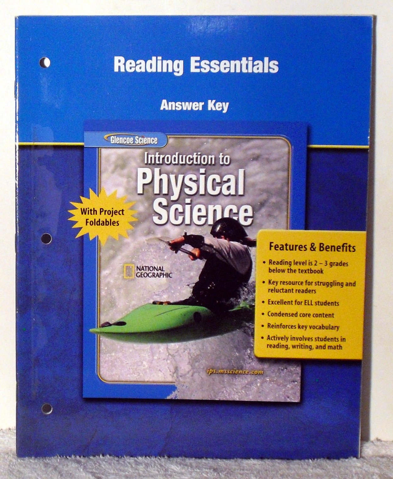 Physical Science Textbook Answer Key - slidesharetrick