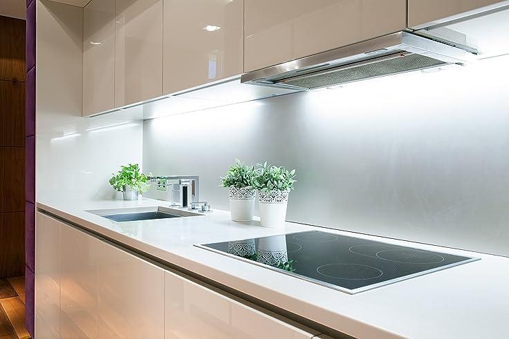 LED Unterbauleuchte |113.6cm | warmweiß | LED Lichtleiste 19W ...