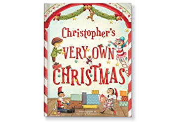 Amazon.com : Personalized Vintage Santa Keepsake Christmas Book Gift ...