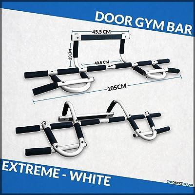 Generic O-1-o-4352-o Fitness Barre de traction UPS Extrem menton UPS SI Porte Gym exercice fitness HIN Onduleur UPS Sit Up Extreme fer MA Iron Man Blanc NV _ 1001004352-nhuk17_ 1469