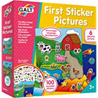 Galt Toys Eerste sticker foto's