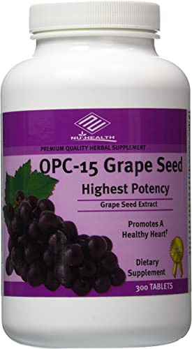 OPC Grape Seed Extract 100 Mg – 300 Tablets