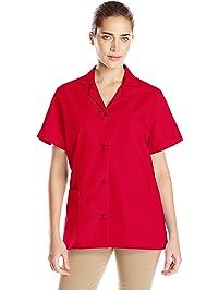 Red Kap Women's Button Front Tunic
