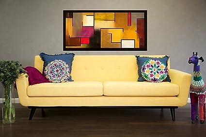 Ordinaire Tov Furniture James Mid Century Modern Mustard Linen Sofa, Yellow