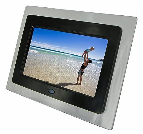 Amazoncom Kitvision 7 Inch Digital Photo Frame Black Digital