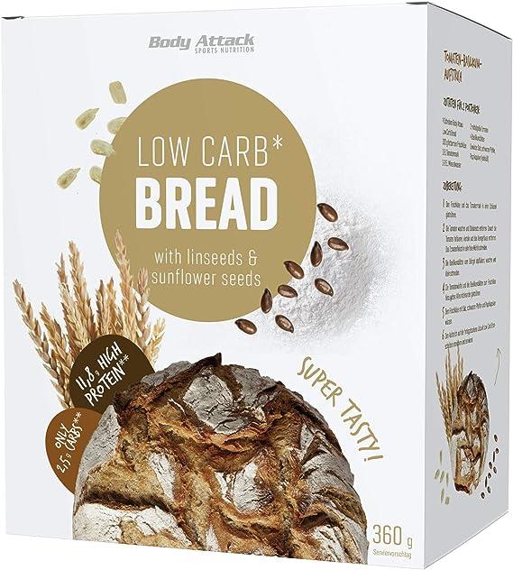 Body Attack Protein Low Carb Bread Pane Proteico Miscela Da Forno Senza Altri Ingredienti Vegetariana E Senza Dolcificante Confezione Da 1 1 X 360 G Amazon It Alimentari E Cura Della Casa