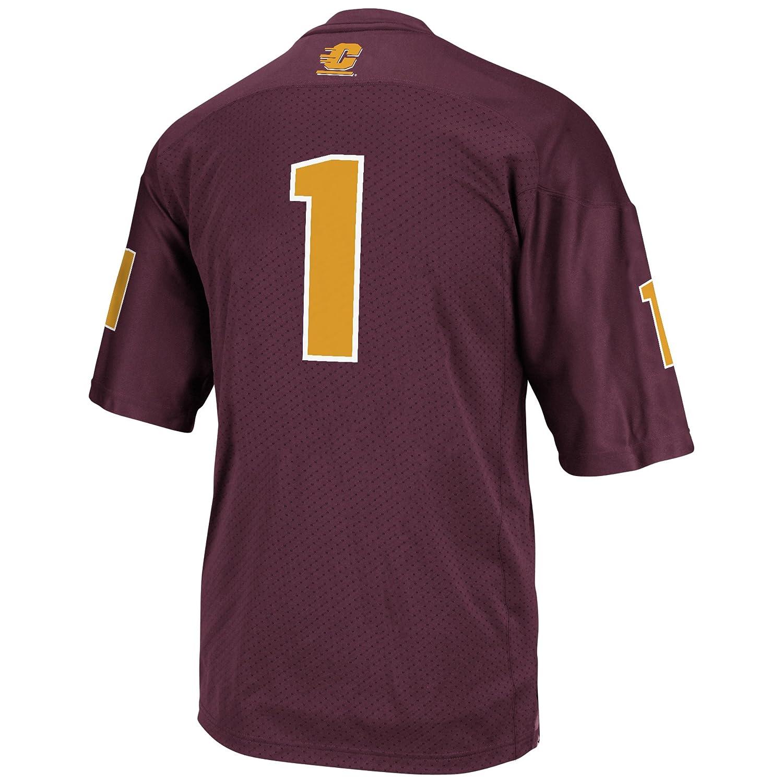 Adidas - Camiseta de fútbol de la NCAA para hombre, con tres bandas. - 7660 DW, S, Granate: Amazon.es: Deportes y aire libre
