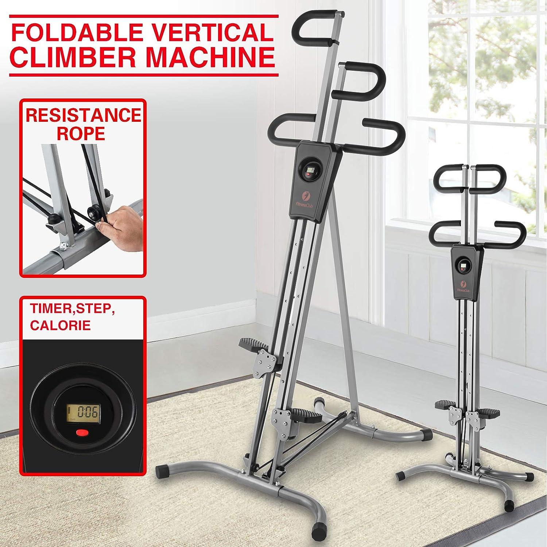 Fitnessclub, máquina de escalada vertical resistente plegable ...