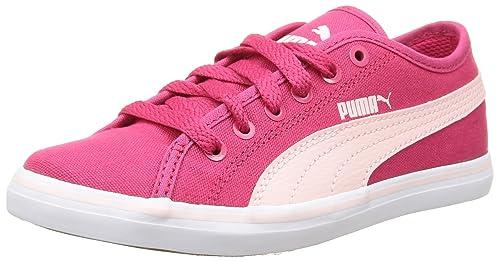 Puma Elsu V2 CV, Baskets Mode Garçon - Rouge (Rose Red/Pink Dogwood