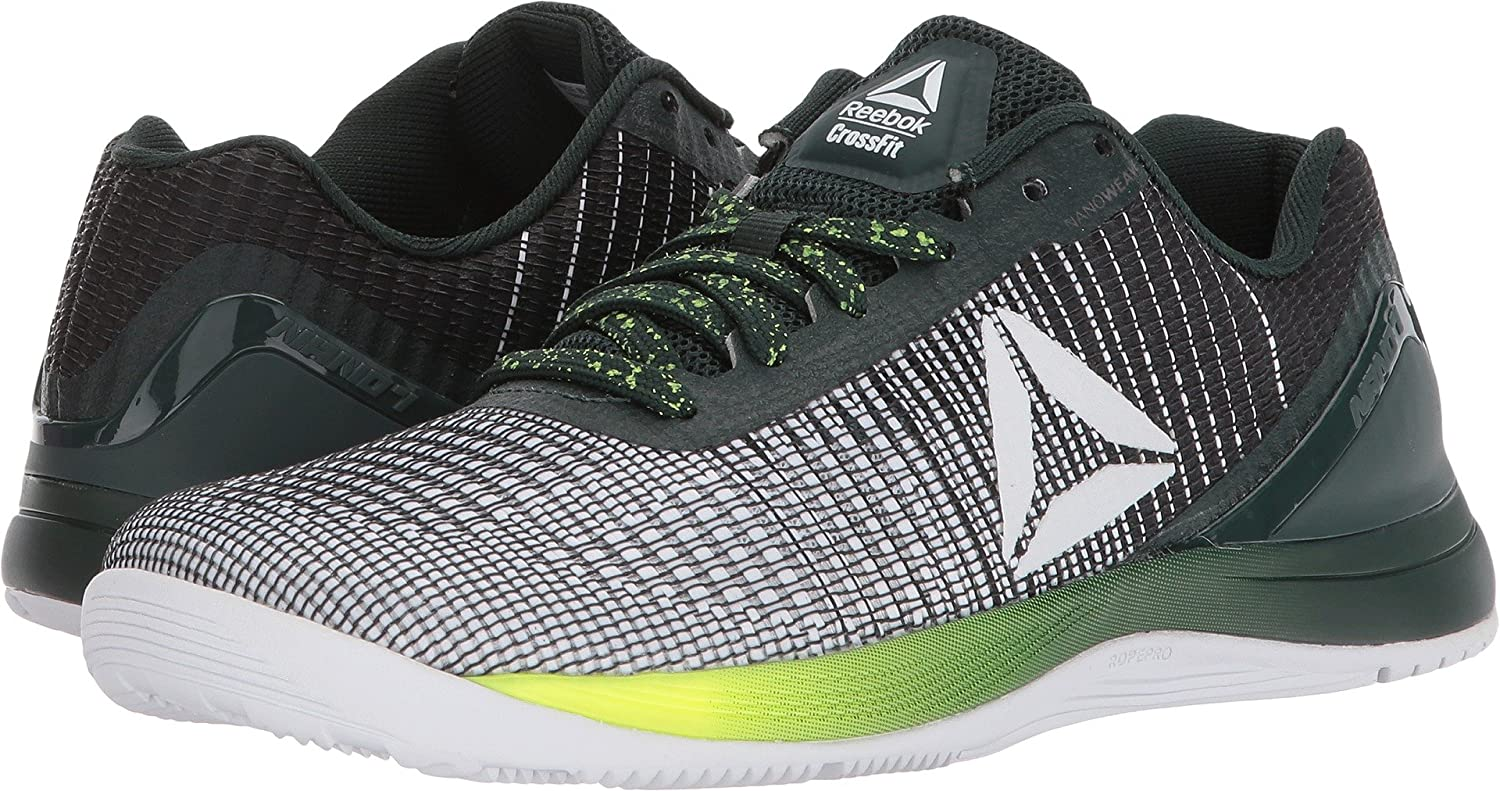 Reebok Women's Crossfit Nano 7.0 B(M) Track Shoe B077YBG8HQ 8.5 B(M) 7.0 US|Neon/White/Black/Solar Yellow 270be1