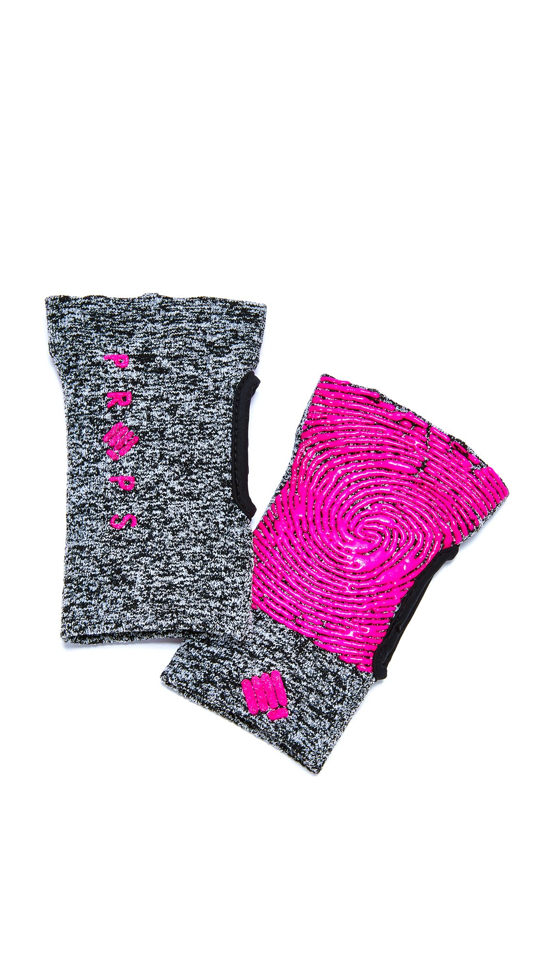 Props Athletics Women's Freedom Athletic Compression Gloves, Grey/Pink, Small by Props Athletics