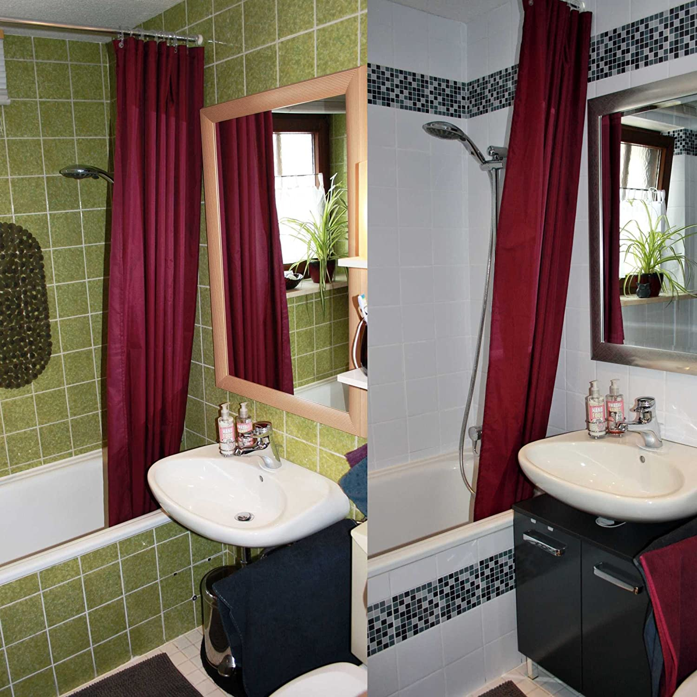 Decorazioni per piastrelle bagno best adesivi per for Decorazioni adesive per bagno