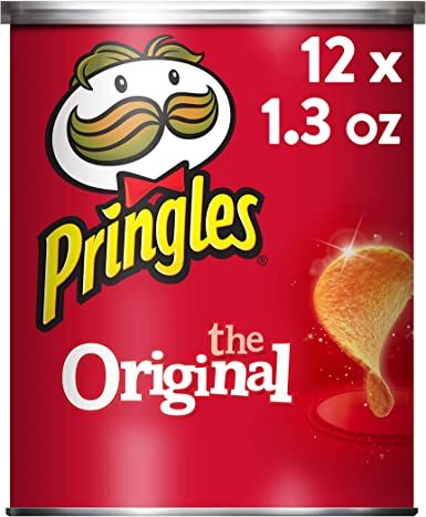 Pringles Original Small Stacks, 1.3 Ounce (Pack of 12): Amazon.es ...