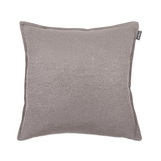 Textilhome Funda de Cojín Dolce - Medida 50X30cm. Color Beig ...