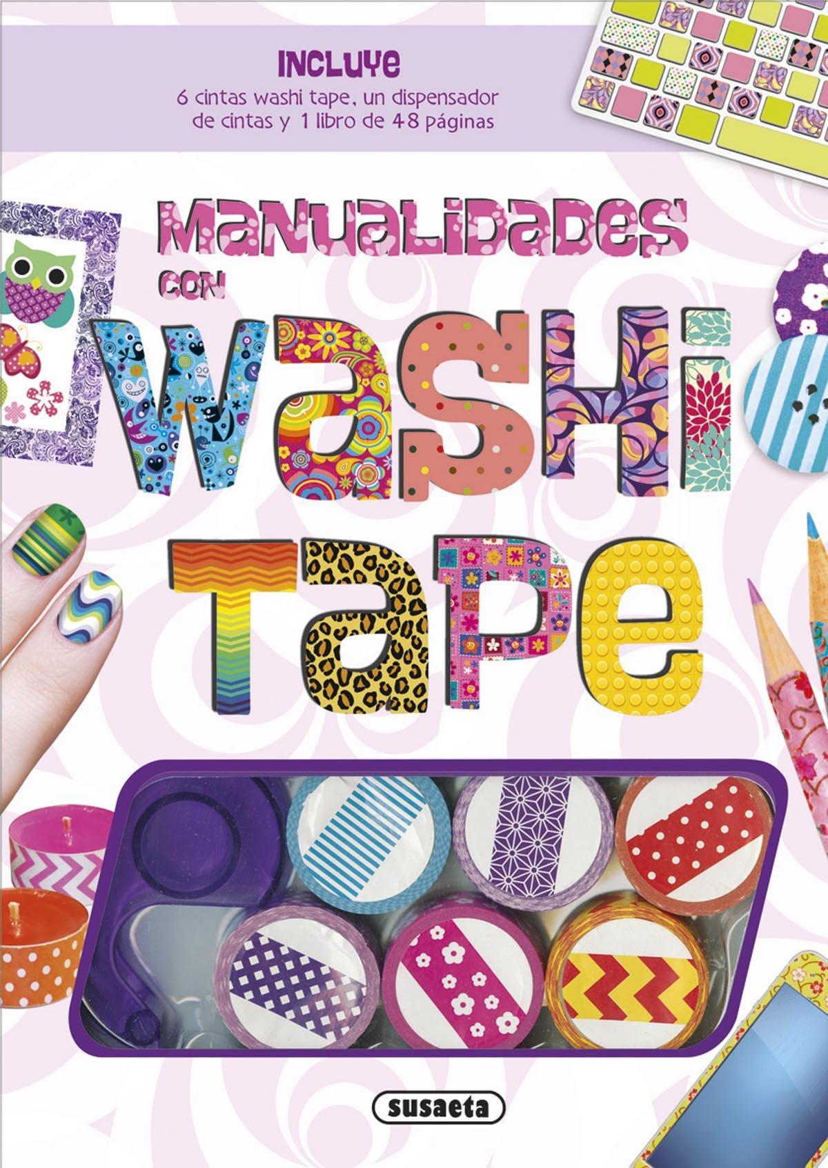 Manualidades con washi tape (Hecho a mano): Amazon.es: Susaeta Ediciones S A: Libros